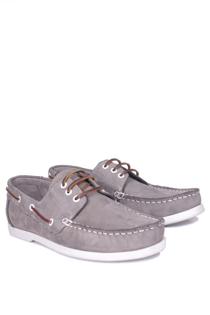 Kalahari 737001 515 Erkek Gri Nubuk Günlük Ayakkabı