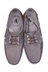 Kalahari 737001 515 Erkek Gri Nubuk Günlük Ayakkabı - Thumbnail