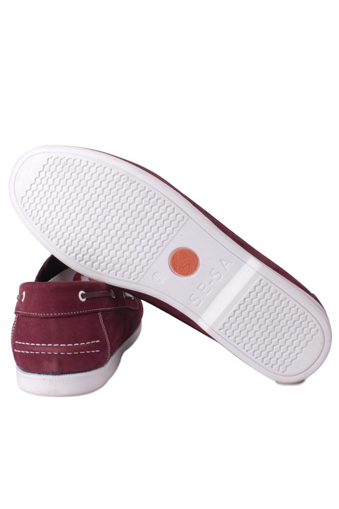 Kalahari 737001 662 Erkek Bordo Nubuk Günlük Ayakkabı