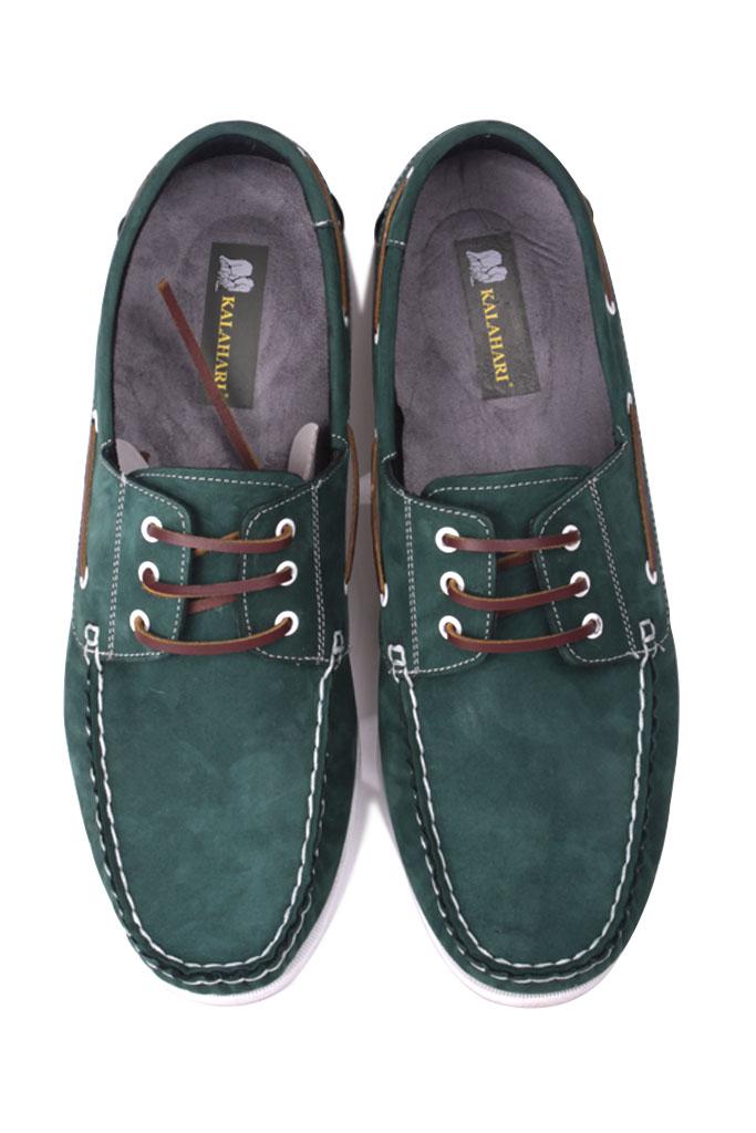 Kalahari 737001 772 Erkek Yeşil Nubuk Günlük Ayakkabı
