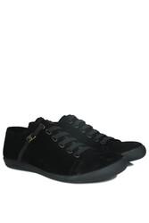 Fitbas 850660 008 Erkek Siyah Süet Büyük Numara Loafer - Thumbnail