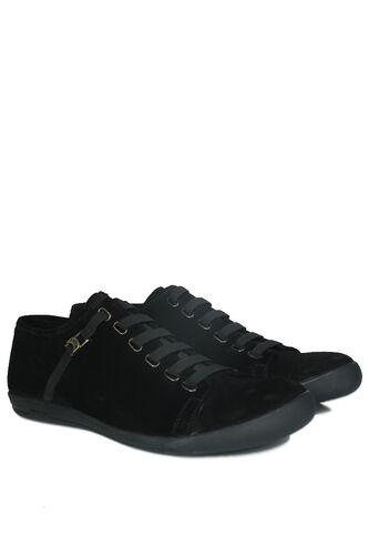 Fitbas - Fitbas 850660 008 Erkek Siyah Süet Büyük Numara Loafer (1)