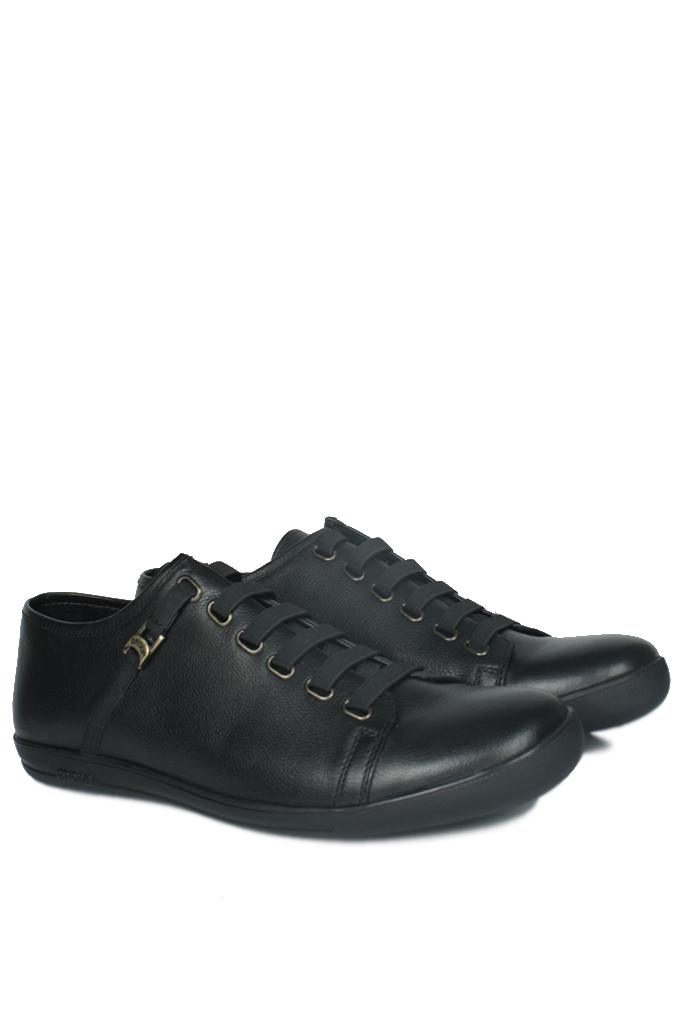 Kalahari 850660 013 Erkek Siyah Deri Loafer