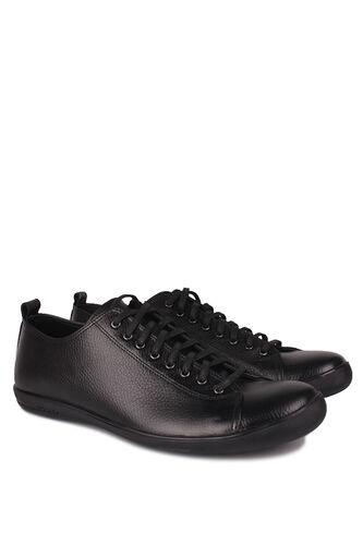 Fitbas - Fitbas 850661 013 Erkek Siyah Deri Büyük Numara Ayakkabı (1)