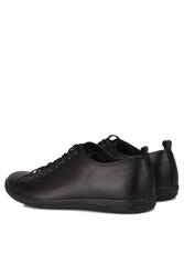 Fitbas 850661 013 Erkek Siyah Deri Büyük Numara Ayakkabı - Thumbnail