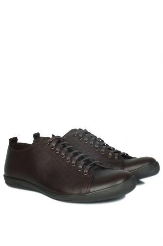 46 47 48 49 50 Büyük Numara Ayakkabı - Kalahari 850661 232 Erkek Kahve Deri Ayakkabı (1)