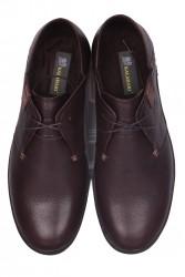 Fitbas 850984 232 Erkek Kahve Deri Büyük Numara Ayakkabı - Thumbnail