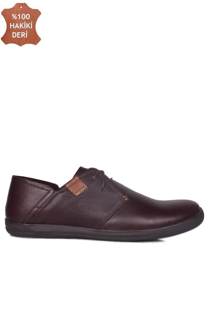 Fitbas 850984 232 Erkek Kahve Deri Büyük Numara Ayakkabı