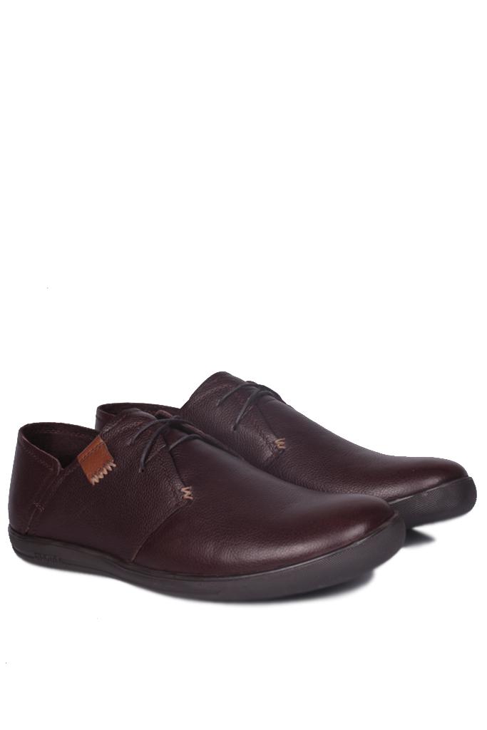 Kalahari 850984 232 Erkek Kahve Deri Büyük Numara Ayakkabı
