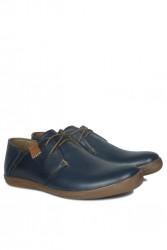Kalahari 850984 420 Erkek Lacivert Deri Büyük Numara Ayakkabı - Thumbnail