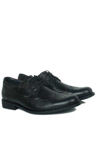 King Paolo - King Paolo 1271 0013 Erkek Siyah Klasik Büyük Numara Ayakkabı (1)