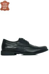 King Paolo 1271 0013 Erkek Siyah Klasik Büyük Numara Ayakkabı - Thumbnail
