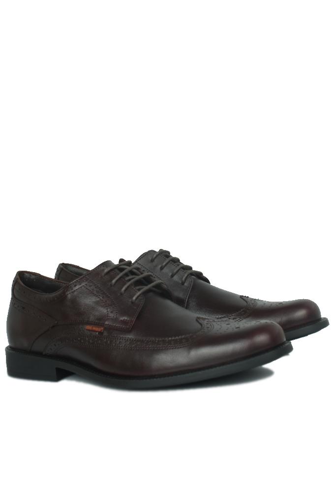 King Paolo 1271 0232 Erkek Kahve Klasik Büyük Numara Ayakkabı