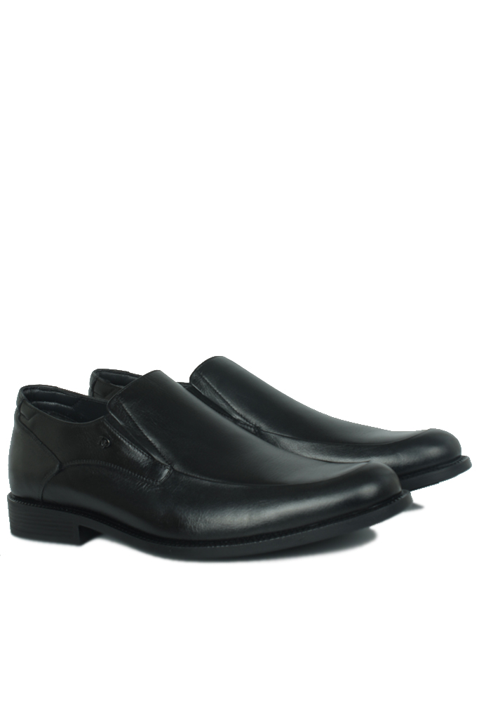 King Paolo 1287 0013 Erkek Siyah Klasik Ayakkabı