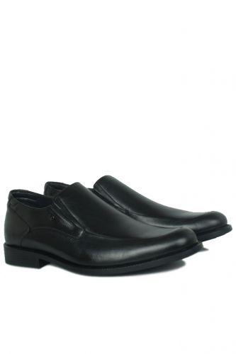 King Paolo - King Paolo 1287 0013 Erkek Siyah Klasik Büyük Numara Ayakkabı (1)