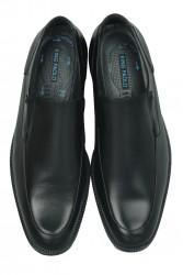 King Paolo 1287 0013 Erkek Siyah Klasik Büyük Numara Ayakkabı - Thumbnail