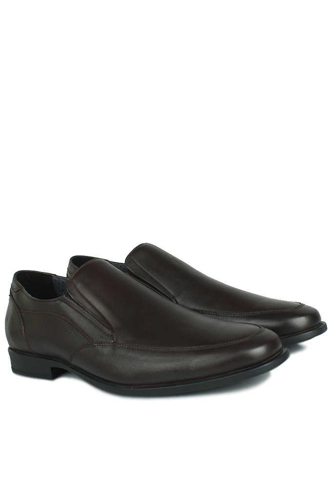 King Paolo 1310 232 Erkek Kahve Klasik Büyük Numara Ayakkabı