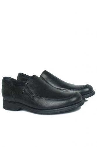 King Paolo - King Paolo 300 0013 Erkek Siyah Klasik Büyük Numara Ayakkabı (1)