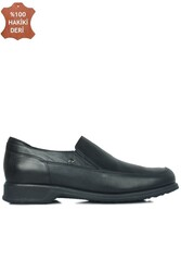 King Paolo 300 0013 Erkek Siyah Klasik Büyük Numara Ayakkabı - Thumbnail