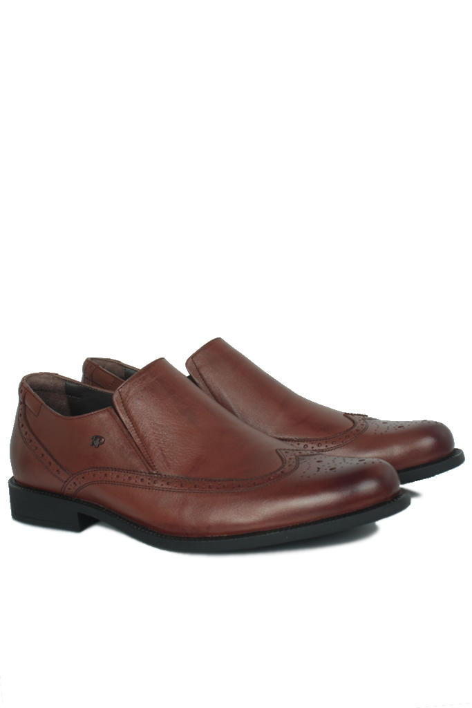 King Paolo 6147 0167 Erkek Taba Klasik Ayakkabı