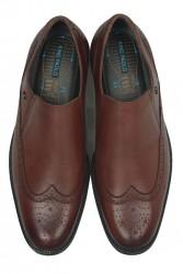 King Paolo 6147 0167 Erkek Taba Klasik Büyük Numara Ayakkabı - Thumbnail