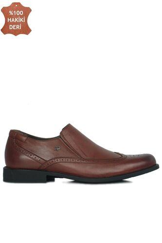 King Paolo 6147 0167 Erkek Taba Klasik Büyük Numara Ayakkabı