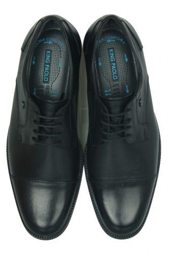 King Paolo - King Paolo 7180 0013 Erkek Siyah Klasik Ayakkabı (1)