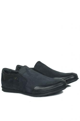 King Paolo - King Paolo 8146 0014 Erkek Siyah Günlük Ayakkabı (1)
