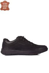 King Paolo 8153 008 Erkek Siyah Günlük Büyük Numara Ayakkabı - Thumbnail