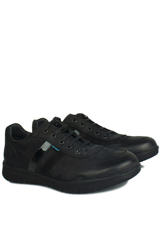 King Paolo - King Paolo 8221 008 Men Black Casual Shoes (1)