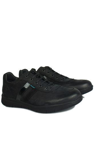 King Paolo - King Paolo 8221 008 Erkek Siyah Günlük Ayakkabı (1)