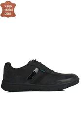 King Paolo 8221 008 Erkek Siyah Günlük Büyük Numara Ayakkabı - Thumbnail