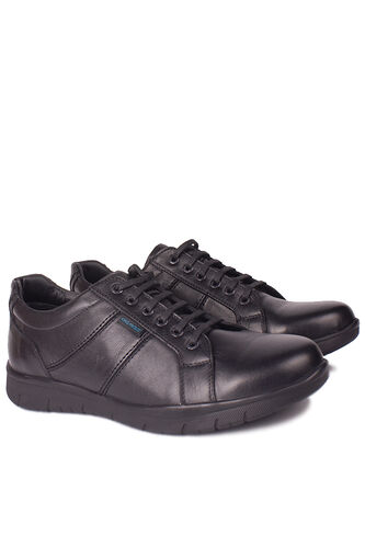 King Paolo - King Paolo 8230 013 Erkek Siyah Günlük Büyük Numara Ayakkabı (1)