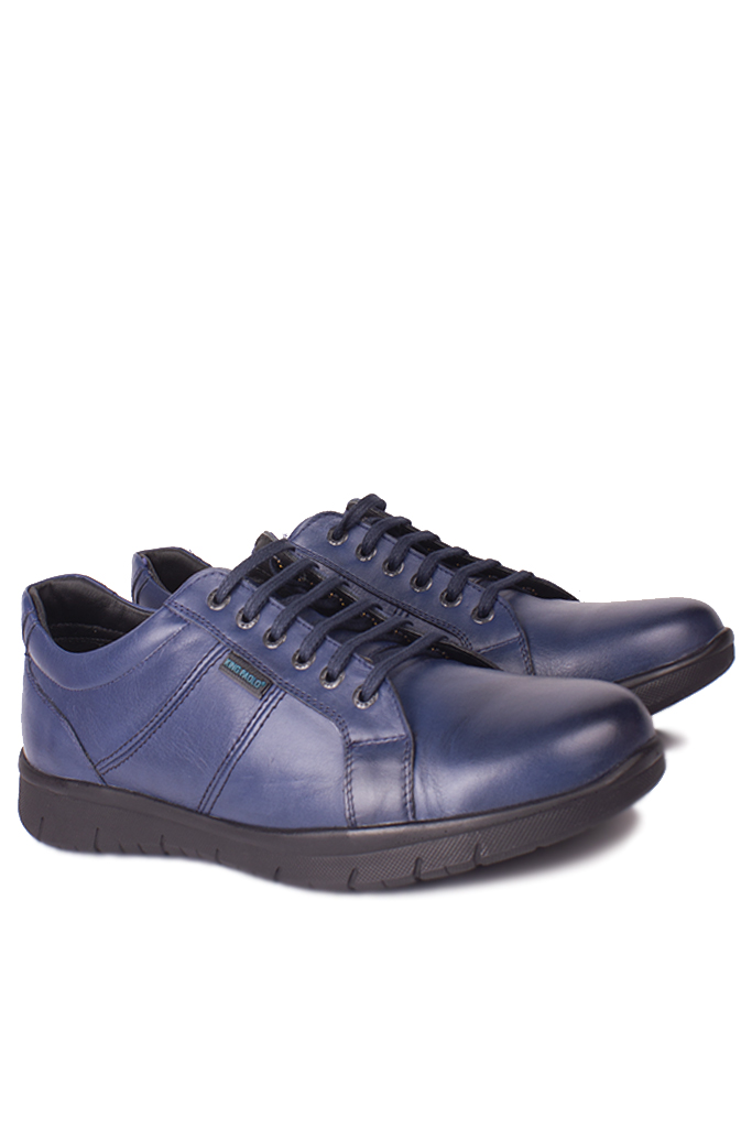 King Paolo 8230 424 Erkek Lacivert Günlük Büyük Numara Ayakkabı