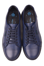 King Paolo 8230 424 Erkek Lacivert Günlük Büyük Numara Ayakkabı - Thumbnail