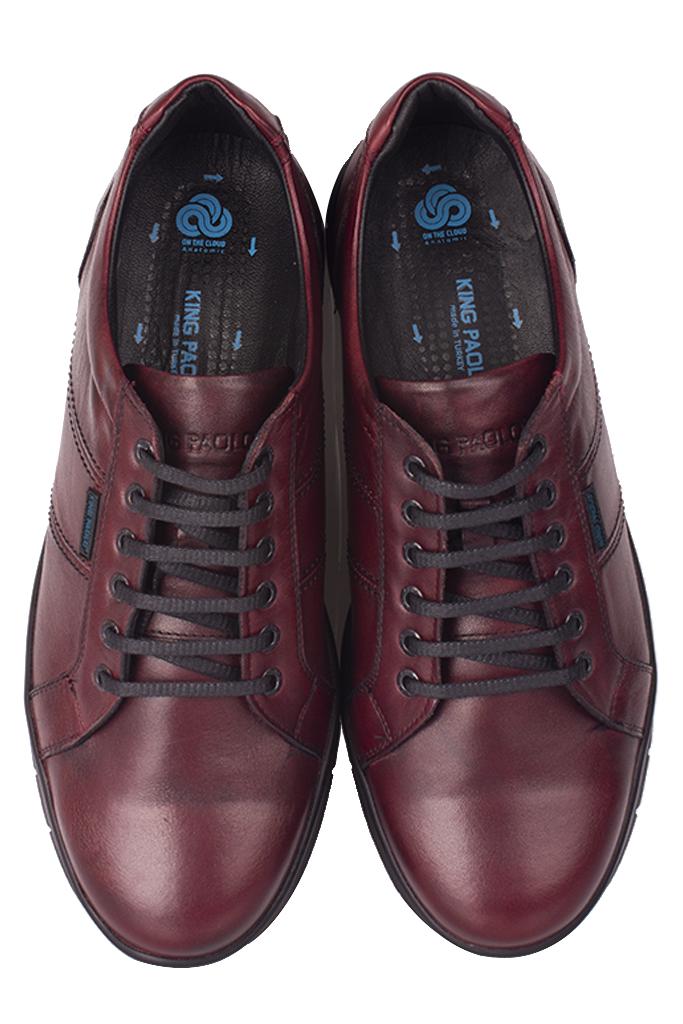 King Paolo 8230 624 Erkek Bordo Günlük Büyük Numara Ayakkabı