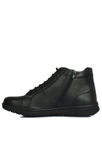 King Paolo - King Paolo 8248 014 Men Black Genuine Leather Boot (1)