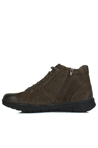 King Paolo - King Paolo 8248 242 Men Brown Nubuck Boot (1)