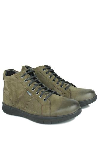 King Paolo - King Paolo 8248 677 Men Khaki Genuine Leather Boot (1)