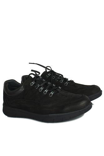 King Paolo - King Paolo 8668 008 Erkek Siyah Günlük Büyük Numara Ayakkabı (1)