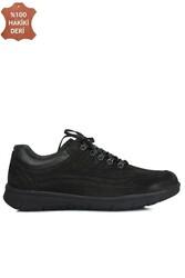 King Paolo 8668 008 Erkek Siyah Günlük Büyük Numara Ayakkabı - Thumbnail