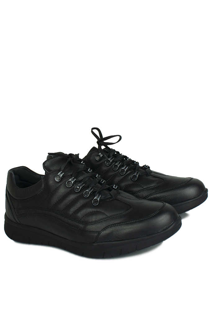 King Paolo 8668 014 Erkek Siyah Günlük Ayakkabı
