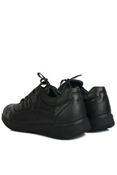 King Paolo 8668 014 Erkek Siyah Günlük Ayakkabı - Thumbnail
