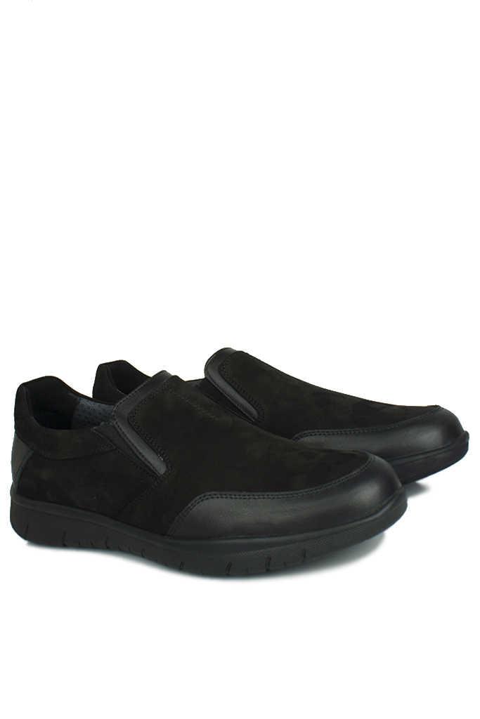 King Paolo 9021 014 Erkek Siyah Günlük Büyük Numara Ayakkabı