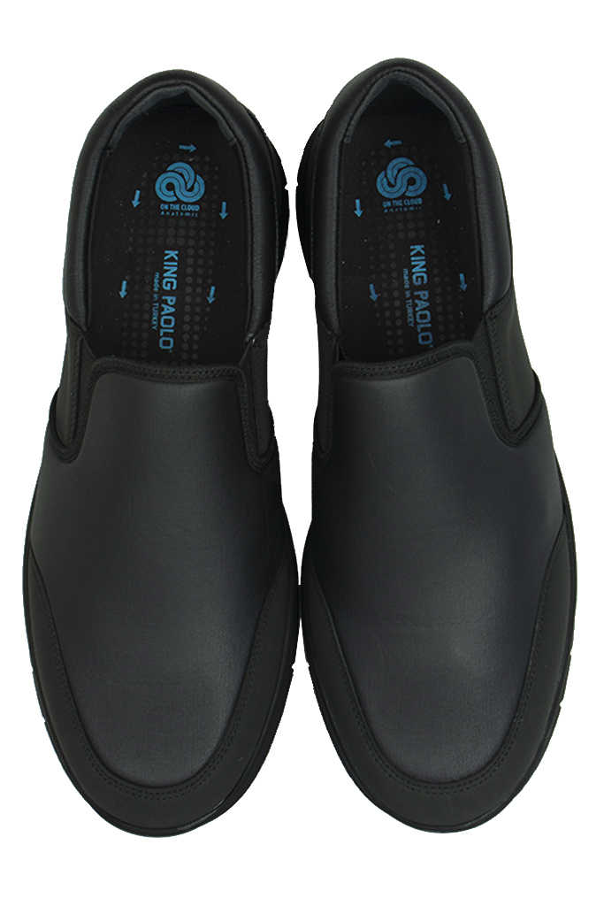 King Paolo 9214 014 Erkek Siyah Günlük Büyük Numara Ayakkabı
