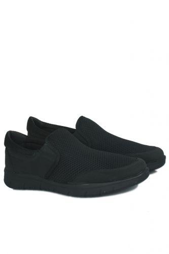46 47 48 49 50 Büyük Numara Ayakkabı - King Paolo 9214 101 Erkek Siyah Günlük Ayakkabı (1)