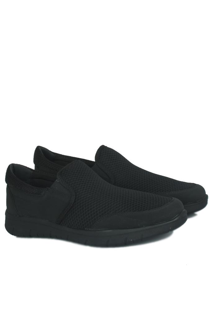 King Paolo 9214 101 Erkek Siyah Günlük Büyük Numara Ayakkabı
