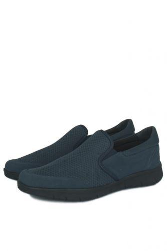 46 47 48 49 50 Büyük Numara Ayakkabı - King Paolo 9214 401 Erkek Lacivert Günlük Ayakkabı (1)
