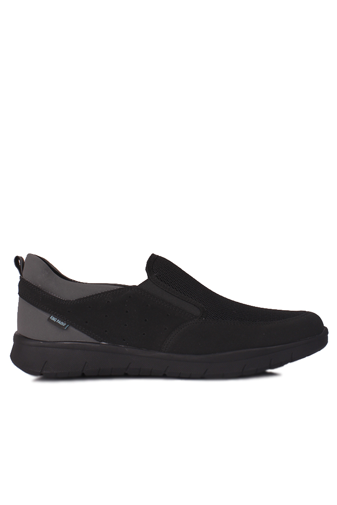 King Paolo 9226 008 Erkek Siyah Günlük Büyük Numara Ayakkabı