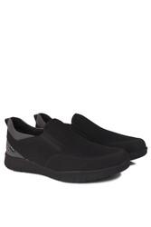 King Paolo 9226 008 Erkek Siyah Günlük Büyük Numara Ayakkabı - Thumbnail